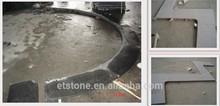Round Swimming Pool Coping Stone , laminated bull nose