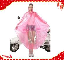 motorcycle girls waterproof raincoat,rain coat, rain poncho for promotion