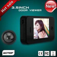 ACTOP 3.5inch TFT color display wider view angle door viewer
