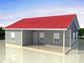 Maison préfabriquée modulaire kit prix, faible coût maison 10ft emballées à plat