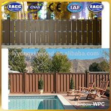wpc garden furniture/outdoor fence/handrail