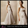 LJ136 Appliqued A-Line Cap Sleeve Wedding Dress For Sale Online