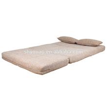 lightweight Functional furniture legless foldable floor sofa beds B84