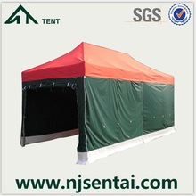 3x6m waterproof fabric for outdoor metal roof portable garage pop up tent wholesale