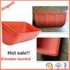 agricultural elevator bucket,hdpe plastic bucket for elevator,high quality elevator hopper