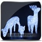 100cm pre-lit high quality crystal animal sculpture