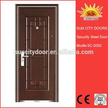Exterior steel entry door slabs SC-S052