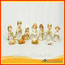 resin nativity set, decorative nativity,religious statues