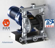 electric diaphragm pump in cast Iron, aluminum, stainless steel, plastic, teflon