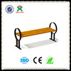 Best selling cast iron and wood garden bench park bench (QX-144B)