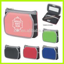 Waterproof Neoprene Cosmetic Bag With Mirror