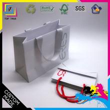 paper bag paper carrier made of C2S art paper bag