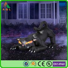 horrific inflatable halloween plush animal lighted product, outdoorlowes inflatable halloween decoration