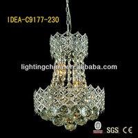 alloy fancy arabian style multi colored crystal chandelier
