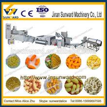Corn stick snack production line / snack food machine / snack maker