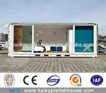low cost accommodation modern box house