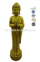 Polyresin standing 3d buddha statue
