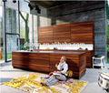 Estilo americano mobiliariodecocina/mdf gabinetes de la cocina/diseño de la cocina