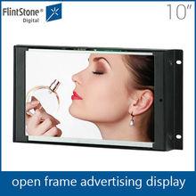 10 inch digital open frame advertising screen frame