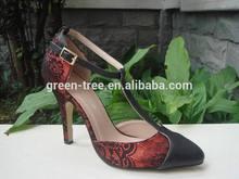 Sexy upper design fashion women shoes sexi high heel dress shoe