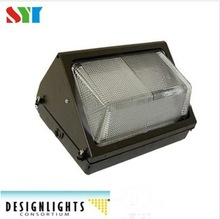 Dlc ul led commercial outdoor led wall pack light 60w ,led cut off wall pack