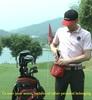 Helix 2014 New Design Customized Nylon Material Golf Ball Bag