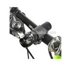 Super Bright 1 Watt Telescopic Bike Headlight /Flashlight (with steady and flashing mode)