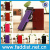 Hot sale leather case for huawei ascend p6 with wallet and stand
