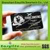 Designed to capture attention anodize matt black metal business card