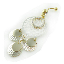 Wholesale Fancy Free Dangle Navel Belly Button Rings Belly Bars Body Piercing Jewelry