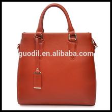 Hot sell real cow leather fashion man handbag