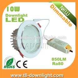 Cheap price 4500k 10w led downlight led spot light crystal frame