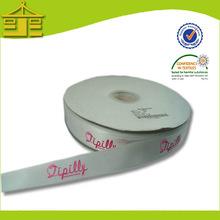 Custom Logo Design Printed Ribbon For Female Dress By Quanyu