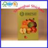 Waterprint fresh fruit corrugated carton box with install accessories /Shanghai Shichao