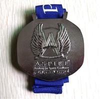 2014 impostazioni personali antico aquila in metallo medaglia