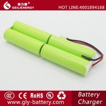 4.8V NIH size AA 2300mah battery packs