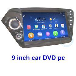 WCDMA/EVDO Android 4.1 1G DDR3+16G car dvd built-in gps /bluetooth/ am/fm radio/tv navigator Kia K2