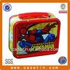 rectangular spider man metal tin kid lunch box