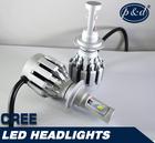 New product 40w h7 auto headlight cree led car headlight