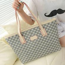 HFR-S14090317 China wholesale new design hot sale canvas fashion women handbag