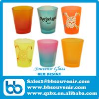 glass souvenir,shot glass,glass beer mug
