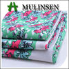 Mulinsen Textile Placement Design Floral Printed 60s Voile 100 Cotton Textile Fabric