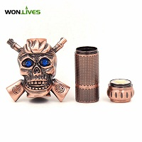 alibaba.com in russian in stock skull mod mechanical mod EGO series atomizer ecigarette