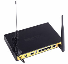 F3434 industrial 4 Lan port wifi 3G gsm wifi router for wifi bus wifi vehicle wifi yacht