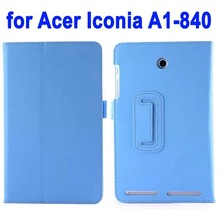 2014 New Arrival Leather Flip Cover for Acer Iconia A1-840
