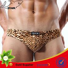 black thong models leopard man/custom men g-strings Male underpants sex gay t-back sex tanga bikini OEM