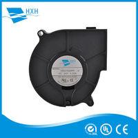 5V 24V oven axail fan plastic dc blower 75*75*30mm