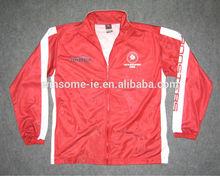 Personnalisé professionnel unisexe polyester sublimation tricot veste de sport pour l'équipe