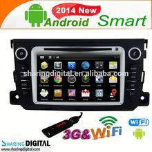 Sharingdigital BNZ-7506GDA Car DVD GPS pure android 4.2OS For Benz Smart