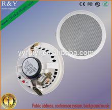 audio system ceiling mount speaker woofer